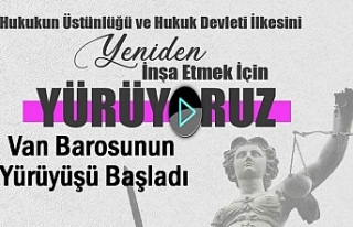 Barolar Van ve 40 ilden Ankara'ya yürüyor | Video